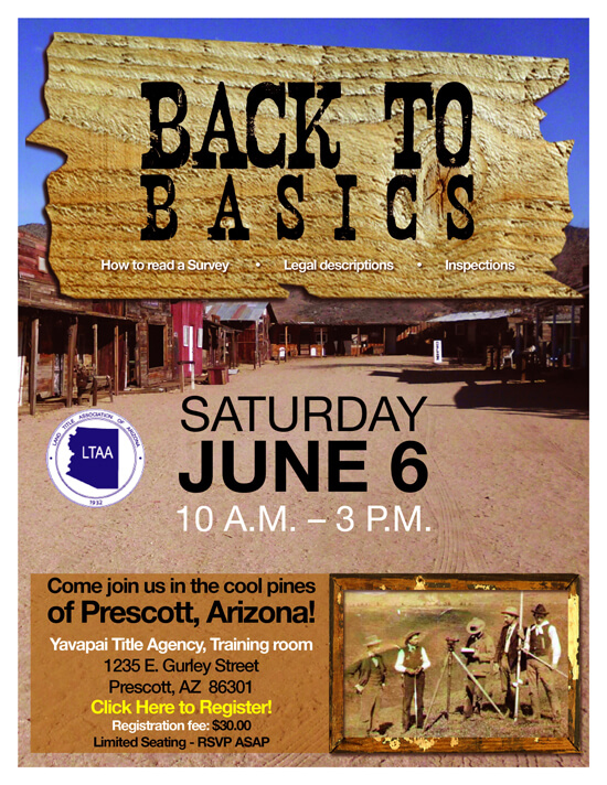 Back To Basics Flyer